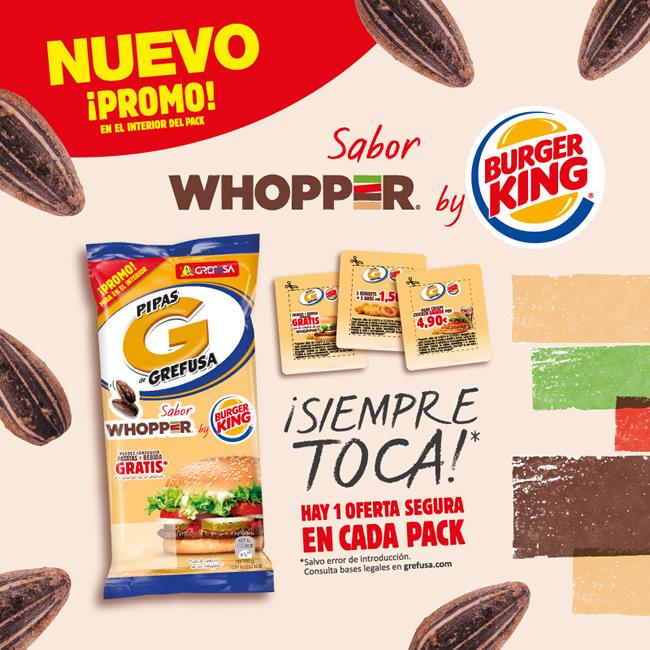 Promo Burger King Grefusa