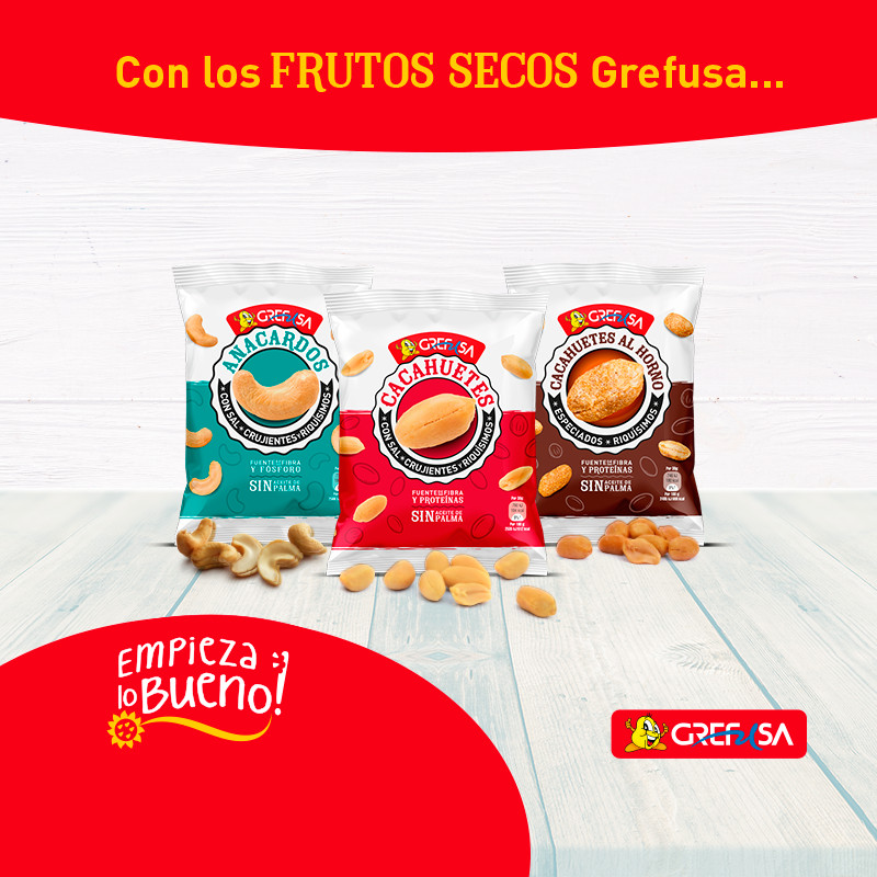 Frutos secos Grefusa