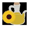 100% aceite de girasol