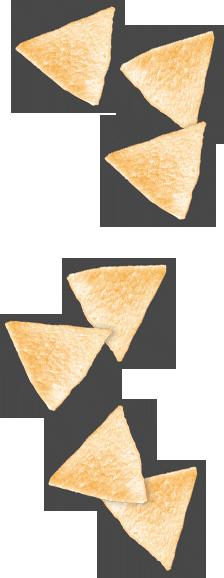 Variedad de snacks