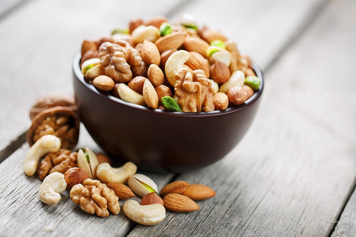 Ideas de Snacks Saludables con frutos secos