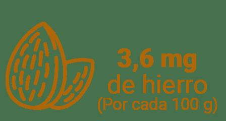 ALMENDRA - 5 frutos secos que son fuente de hierro