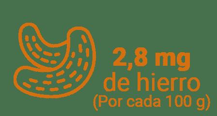 ANACARDO - 5 frutos secos que son fuente de hierro