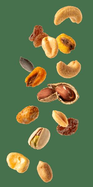 Variedad de frutos secos